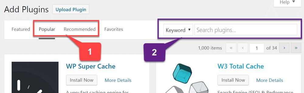 WordPress - Plugins
